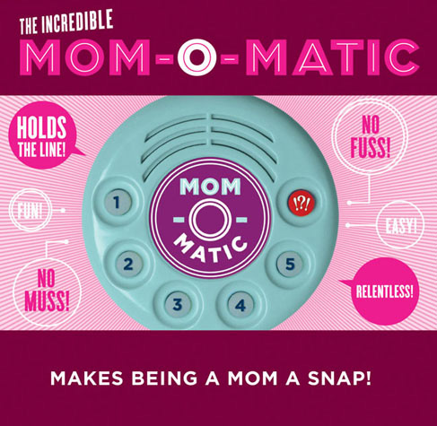 Mom-o-Matic and Dad-o-Matic Makes Being a Parent Easy