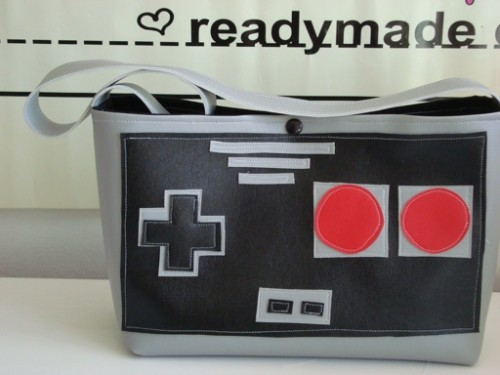 NES Controller Handbag
