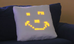 Relational Pillow: You can Draw on it with Light