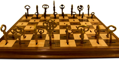 skeleton key chess set Pinboard