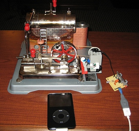 Steam Powered iPod Kicks it Old School