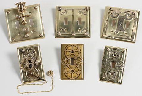 steampunk lightswitch plates Steampunk Light Switch Plates