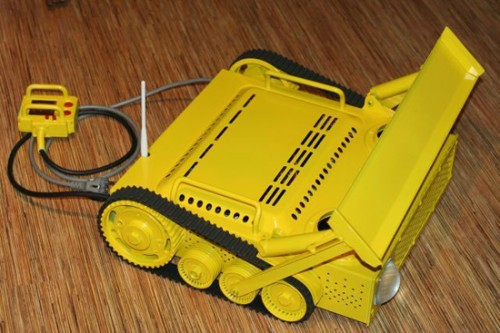 yellow bulldozer pc case 2 500x333 Pinboard