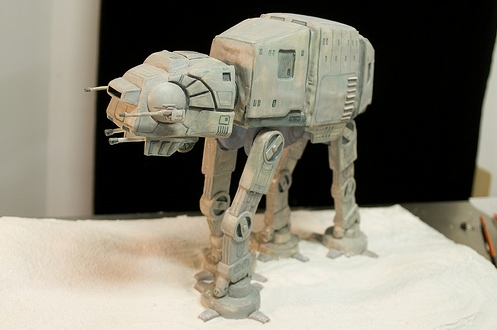 AT-AT Cake Might be the Greatest Geek Cake Ever