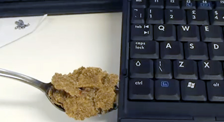 Cereal and Spoon USB Flash Drive