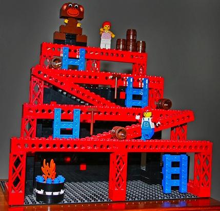 Donkey Kong LEGO Model