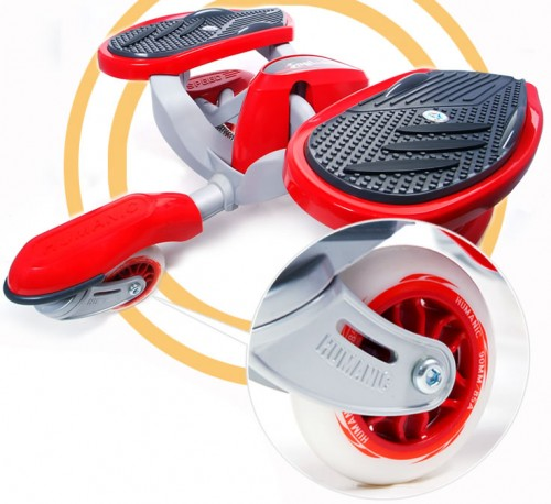 Eaglider is a Stepping Skateboard Scooter Thingy