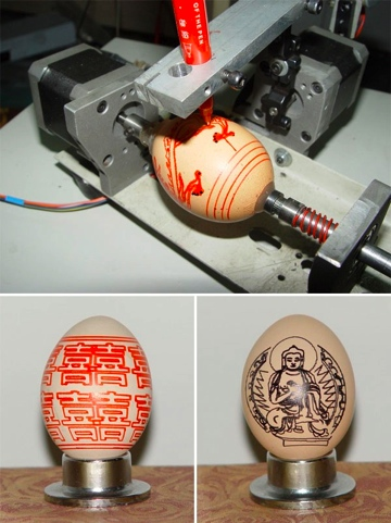 Automated Egg Printer