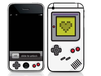 gameboy iphone skin Pinboard
