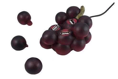 Grape Bunch USB Hub
