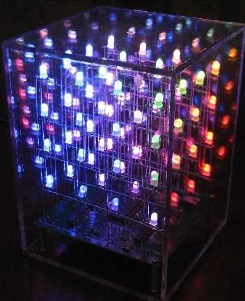 HypnoCube is like a 3D Pink Floyd Light Show in your Living Room