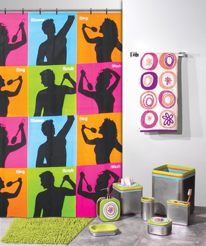ishower curtain Pinboard