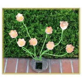 Solar Powered LED Garden Tulip Lights