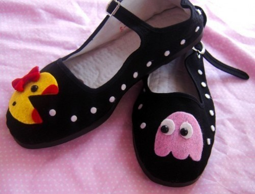 Ms. Pac Man Mary Jane Shoes