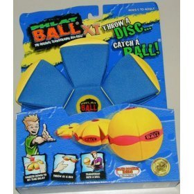 Phlat Ball X-Treme Goes from Frisbee to Ball- in Mid-air!