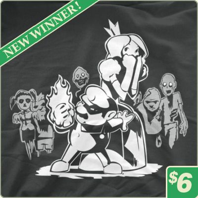 Mario vs. Zombies T-Shirt