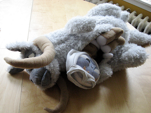 Plush Luke and Tauntaun Fight the Dark Side with Cuteness