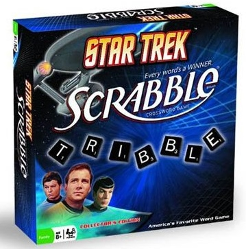 Star Trek Scrabble: Tribble Word Score