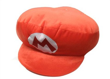 Super Mario Bros Mario Hat Pillow