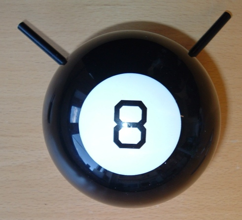 Magic 8-Ball Guitar Amplifier