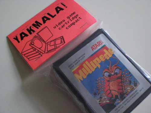 Atari Game Cartridge Compacts