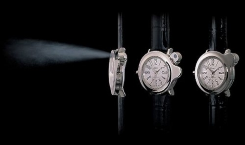 Watch with Built in Perfume Atomizer