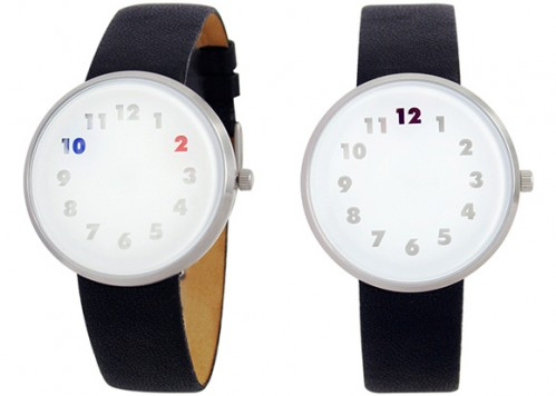 Color Changing Watch has no Hands