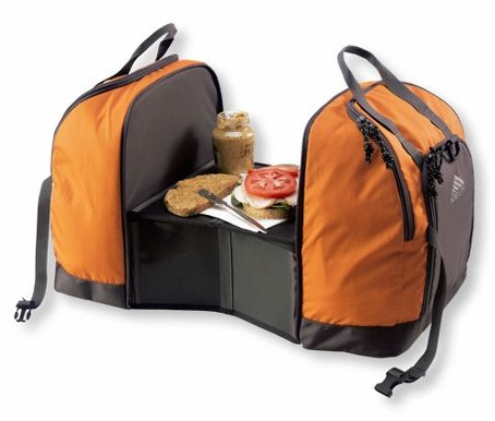 Camping Cooler Bag with Built in Prep Table