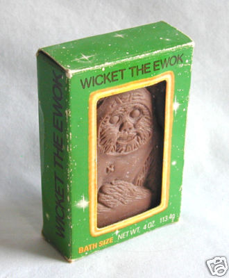 Star Wars Wicket the Ewok Bar of Soap