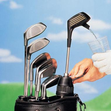 golf bag drink dispenser Pinboard