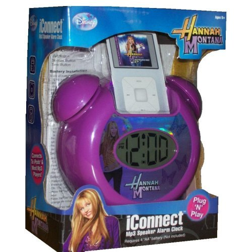 Hannah Montana MP3 Playing Alarm Clock