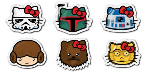 Hello Kitty Meets Star Wars