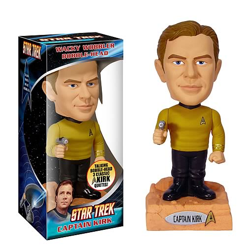 Star Trek Talking Bobbleheads