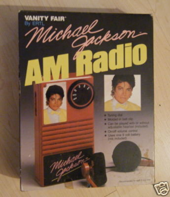 michael jackson am radio 10 Very Strange Michael Jackson Items