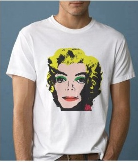 michael jackson marilyn monroe shirt1 10 Very Strange Michael Jackson Items