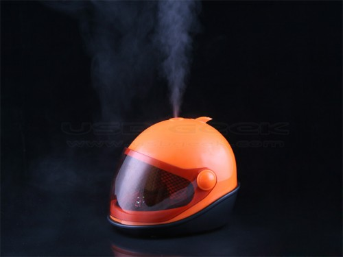 Motorcycle Helmet Shaped USB Humidifier