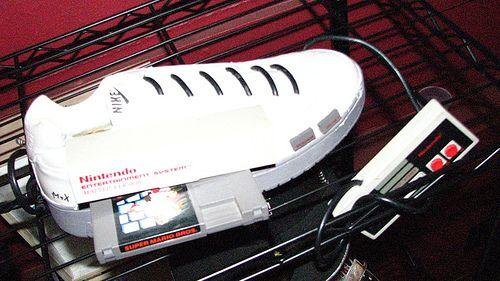 nintendo shoe mod Nintendo in a Shoe Mod
