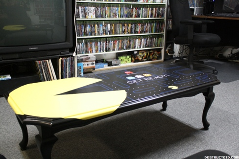 pac man coffee table 2 Pinboard