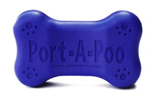 Port-a-poo Takes Your Dog's Poop Out of Your Hands