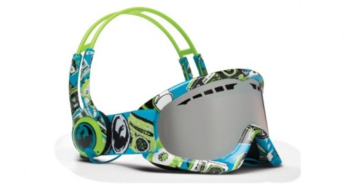 Ridiculous Looking Headphones and Matching Ski Goggles