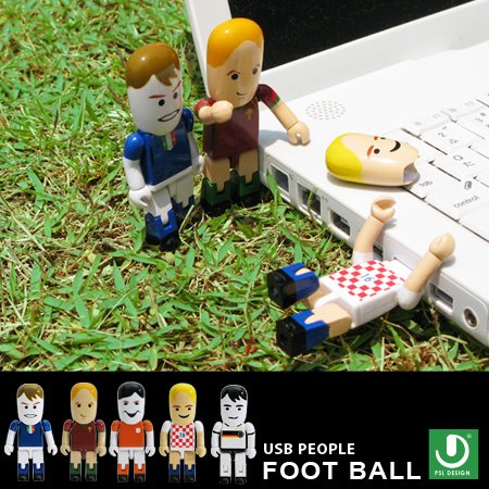 World Cup Soccer (Football) Players USB Figures