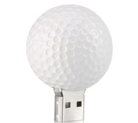 Golf Ball USB Drive