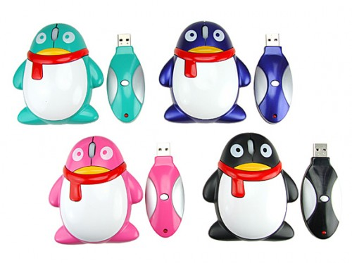 wireless usb penguin mouse1 500x374 Pinboard
