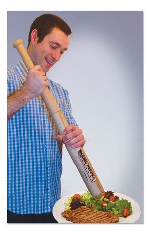 Baseball Bat Pepper Mill Spices Up your Grand Slam Breakfast