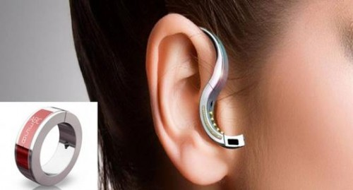 Bluetooth Headset Converts to a Ring