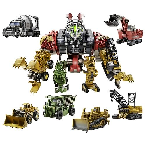 constructicon devastator Transformers Revenge of the Fallen Constructicon Devastator