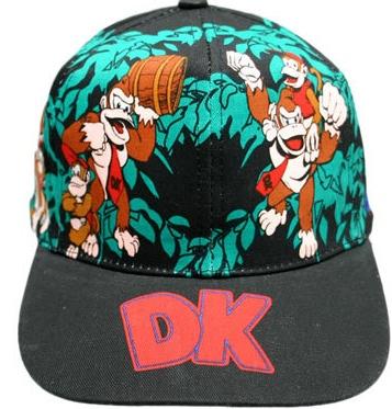 donkey kong hat