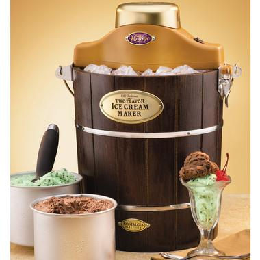 Double Goodness with the Two Flavor Ice Cream Maker
