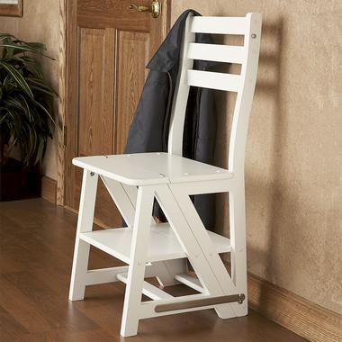 This Folding Chair Stepladder When Its Set Up As A
