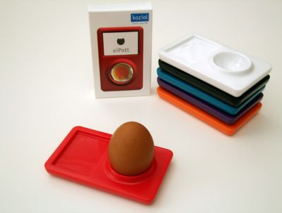 iPod Egg Holder